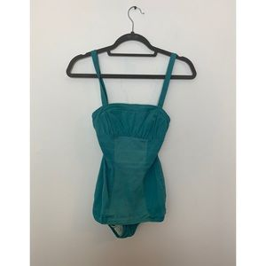 Vintage Robins Egg Blue Pin Up Bathing suit